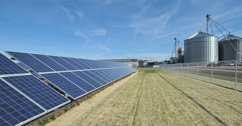 Сетевая-солнечная-электростанция