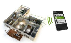 дистанционное управление освещением умного дома
